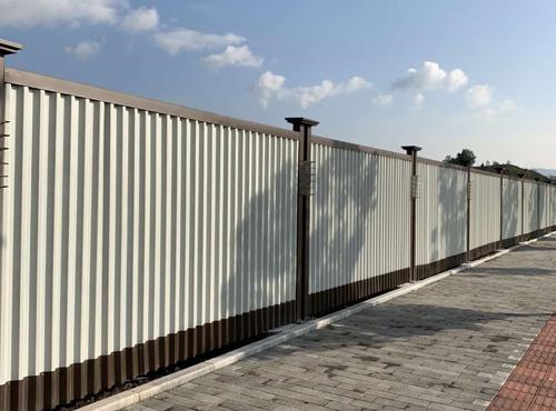 重庆教育建筑集团围挡、栏杆、活动板房项目