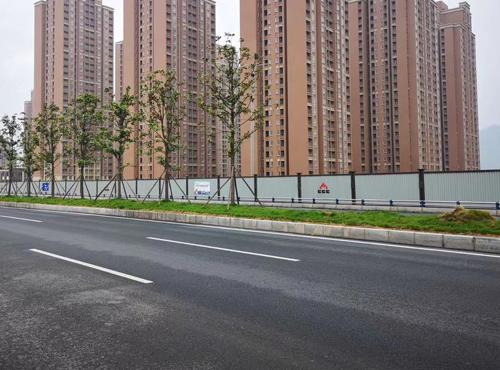 白沙园区、珞璜园区、德感园区、双福园区、滨江新城市政围挡工程