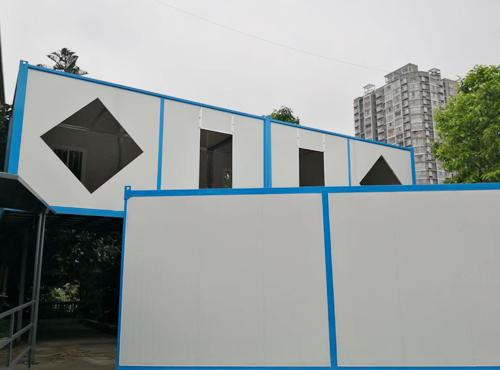 重庆博达建设集团股份有限公司围挡,活动板房项目