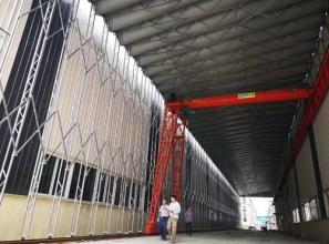 重庆建工集团围挡、板房项目
